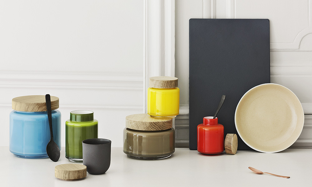 holmegaard palet vorratsgl ser skandinavische wohnaccessoires. Black Bedroom Furniture Sets. Home Design Ideas