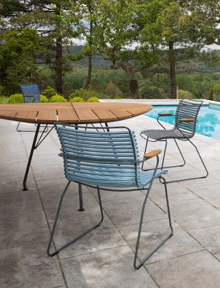 Click Gartenstuhl von HOUE aus Dänemark |