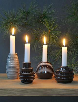 Kerzenhalter Weihnachten.Weihnachten Winter Elbdal De Skandinavische Wohnaccessoires