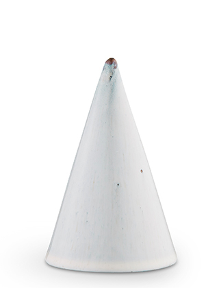 Glasurkegel Light Grey, GR67 - Höhe 110 mm von Kähler Design