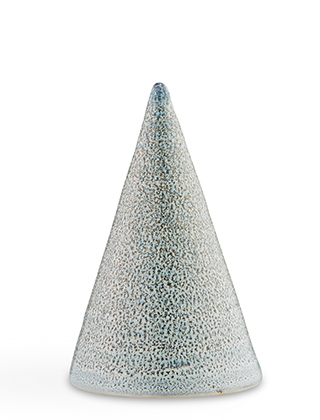 Glasurkegel Speckled Blue, B46 - Höhe 110 mm von Kähler Design
