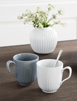 Tassen Design kähler design hammershøi tassen becher elbdal de