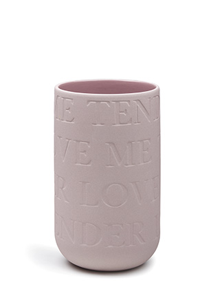 Love Song Vase - Rosé von Kähler Design