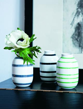 k hler design omaggio vasen skandinavische. Black Bedroom Furniture Sets. Home Design Ideas