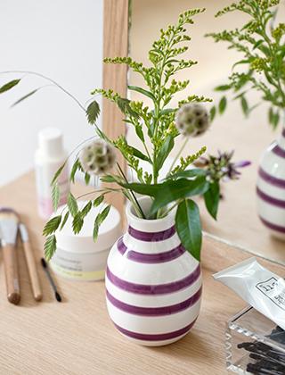 k hler design omaggio vasen skandinavische wohnaccessoires. Black Bedroom Furniture Sets. Home Design Ideas
