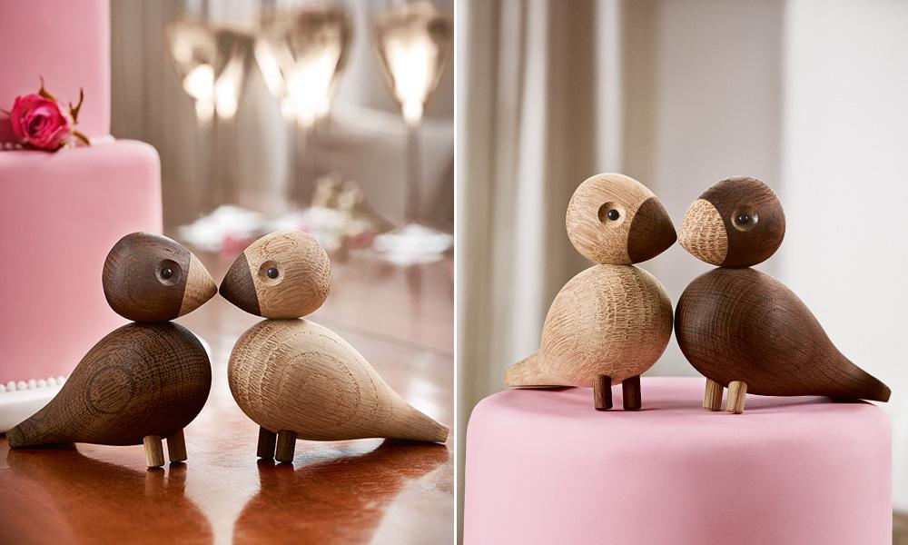 kay bojesen lovebirds skandinavische wohnaccessoires. Black Bedroom Furniture Sets. Home Design Ideas