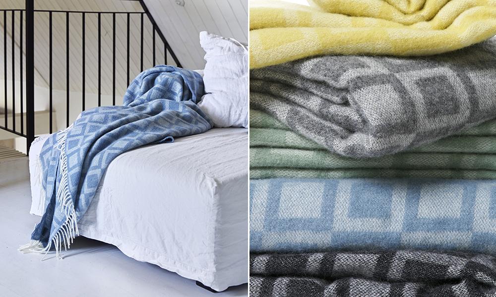 frame wolldecke von klippan skandinavische. Black Bedroom Furniture Sets. Home Design Ideas