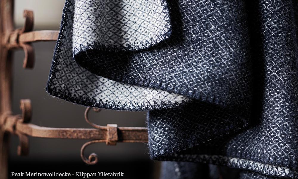 peak wolldecken von klippan skandinavische. Black Bedroom Furniture Sets. Home Design Ideas