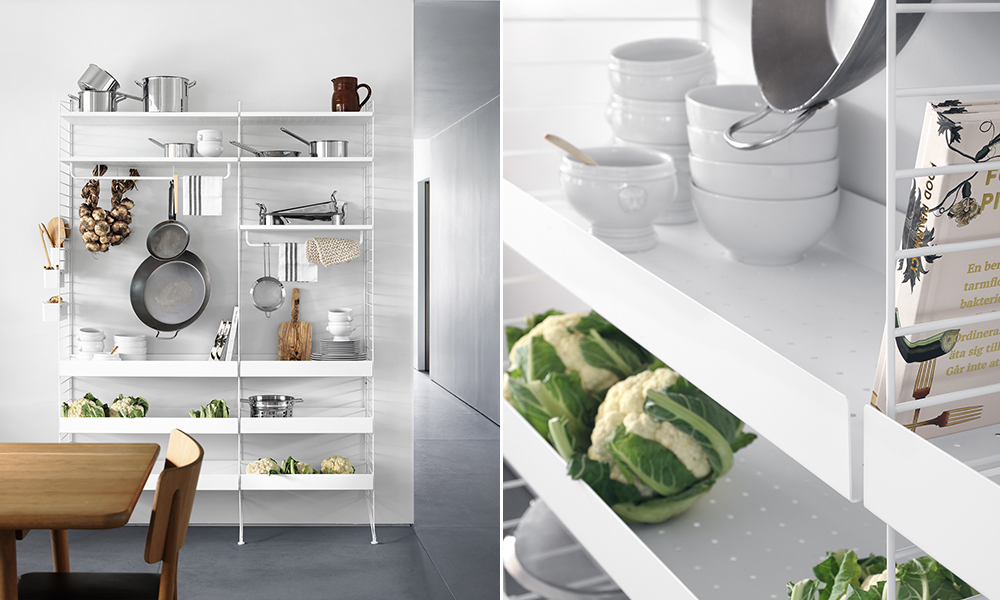 String Küche | elbdal.de | Skandinavische Wohnaccessoires