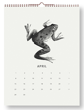 Teemu Järvi Illustrations - Wandkalender 2019 - April