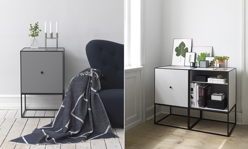 by lassen frame sideboard skandinavische. Black Bedroom Furniture Sets. Home Design Ideas