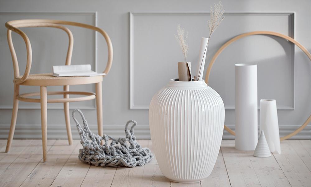 Kahler Design Hammershoi Bodenvase Elbdal De Skandinavische