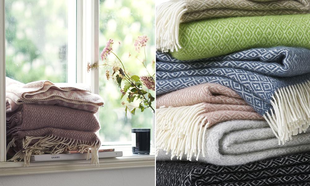 klippan wolldecken und baumwolldecken aus schweden. Black Bedroom Furniture Sets. Home Design Ideas