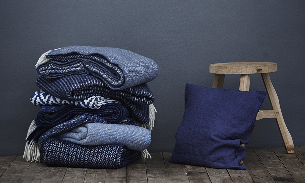 Klippan Wolldecken Und Baumwolldecken Aus Schweden Elbdal De